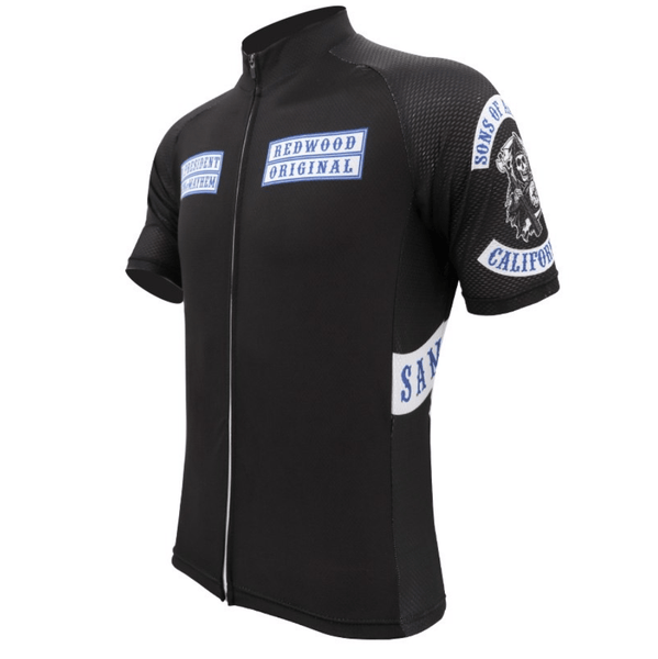 "Maillot de ciclismo original ""Sons of Anarchy"" - Ciclismo de Leyenda"