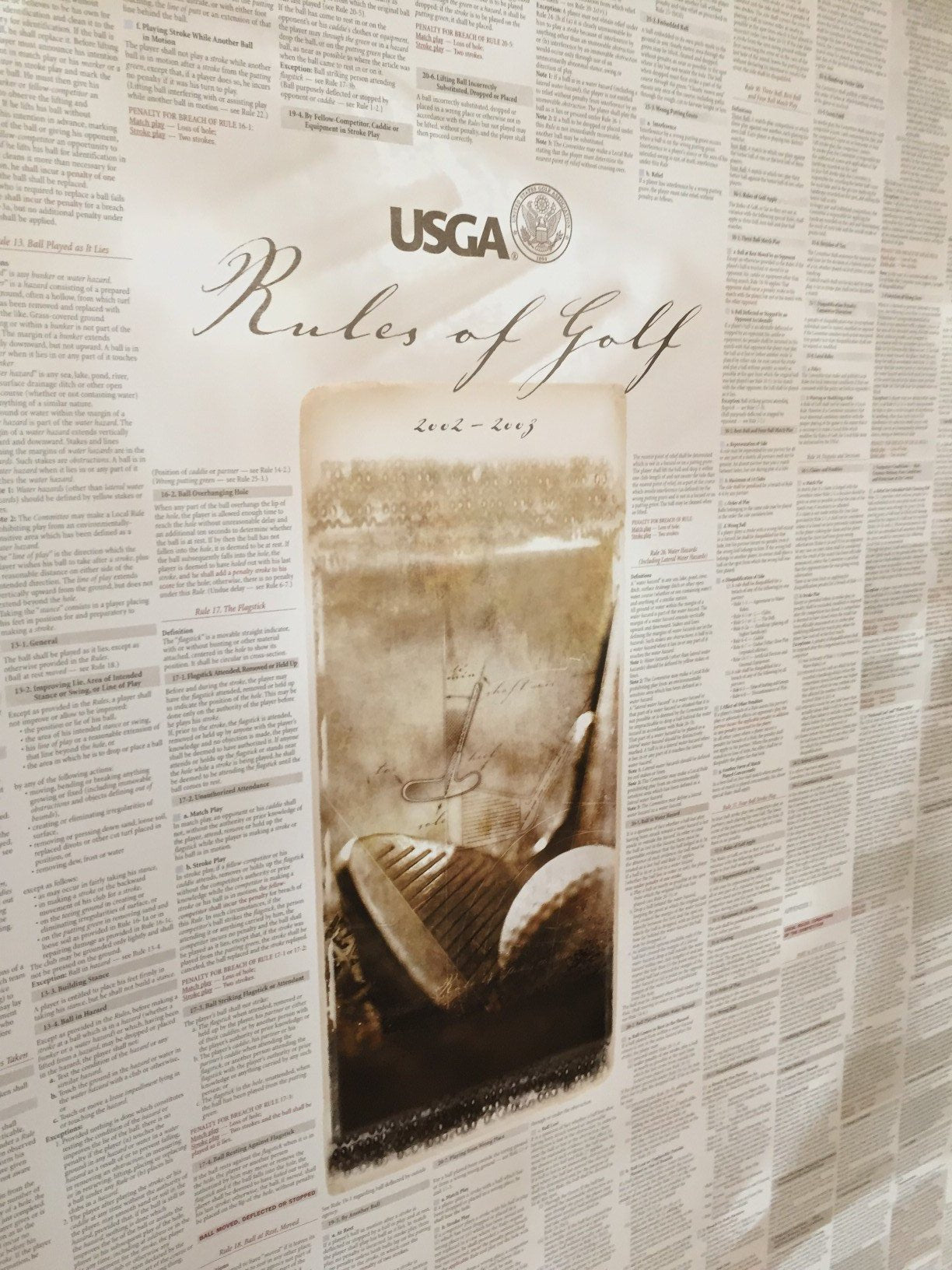 USGA Official Rules of Golf