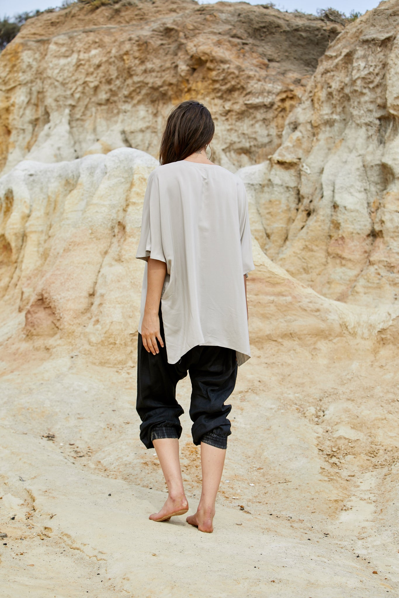 Radella Top - Sand Washed Pure Silk
