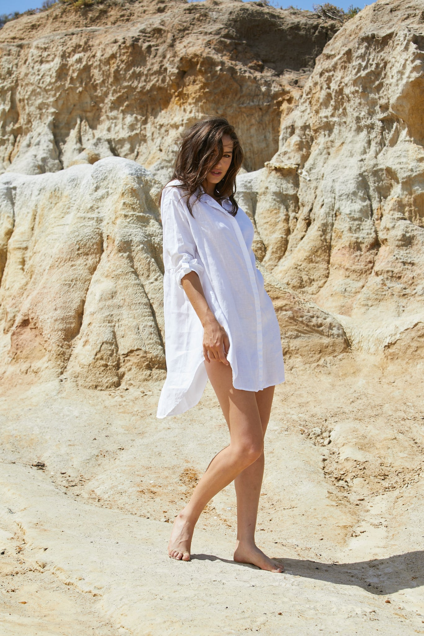 Gondolin Shirt Dress - Pure Linen