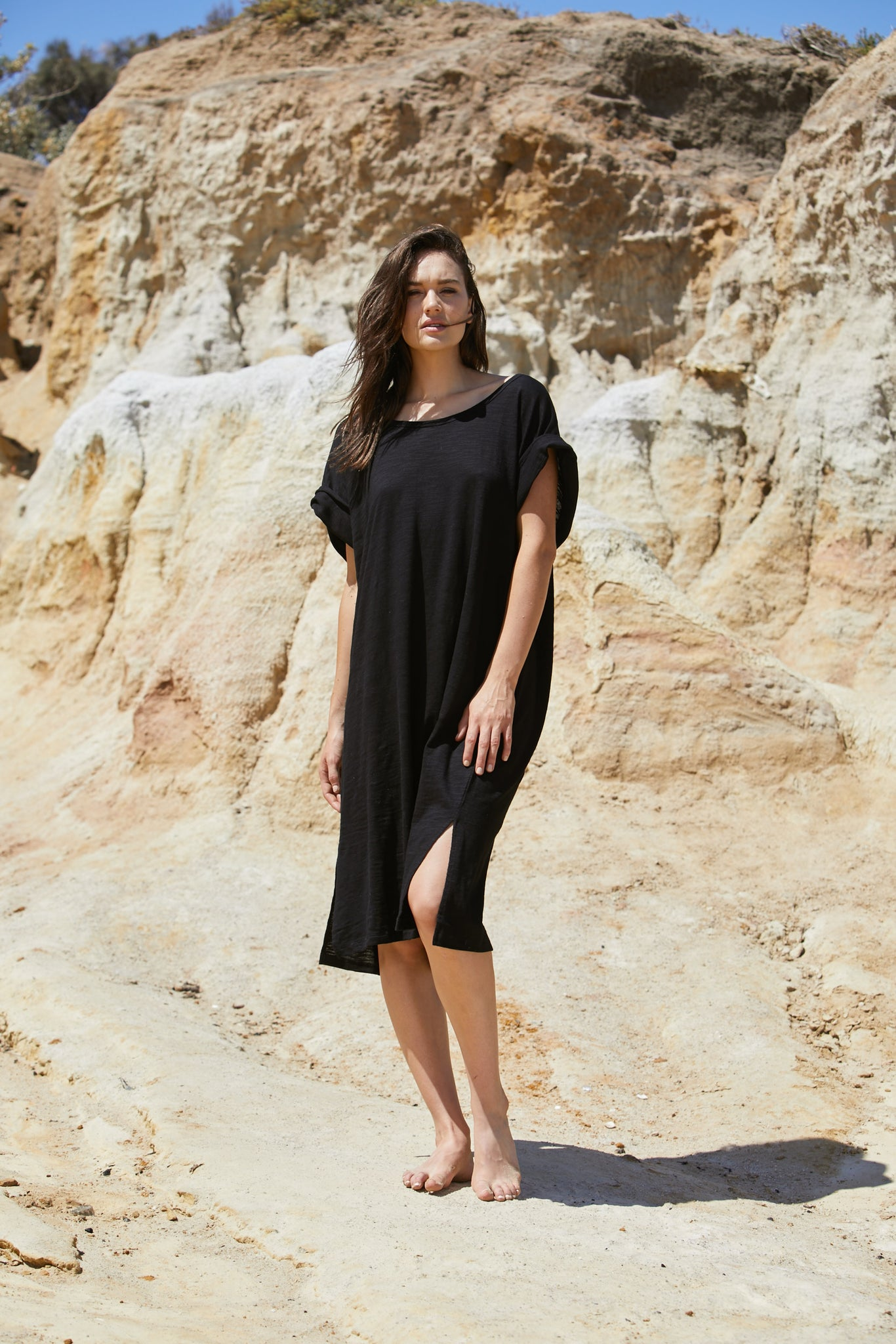 Rhea Tee Dress - Pure Organic Cotton