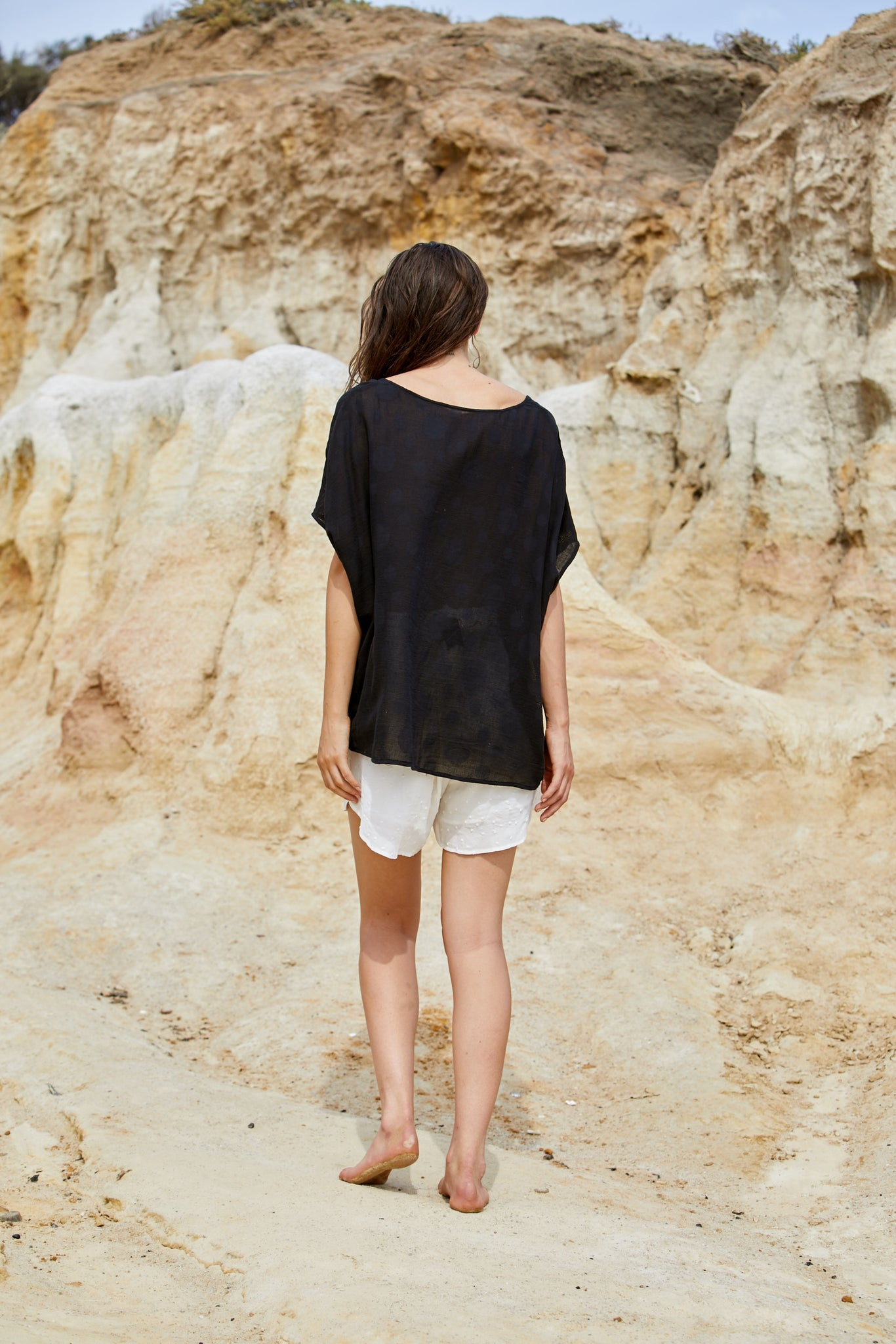 Elpis Top - Pure Cotton Jacquard