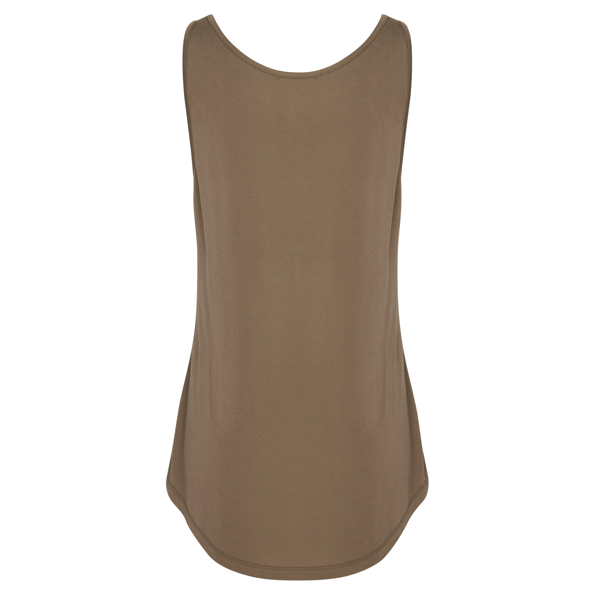 Kotys Longline Tank - Sand Washed Modal Jersey