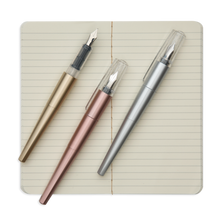 Load image into Gallery viewer, Modern Script Fountain Pens & Journal