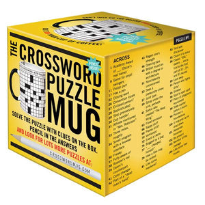 Crossword Puzzle Mug