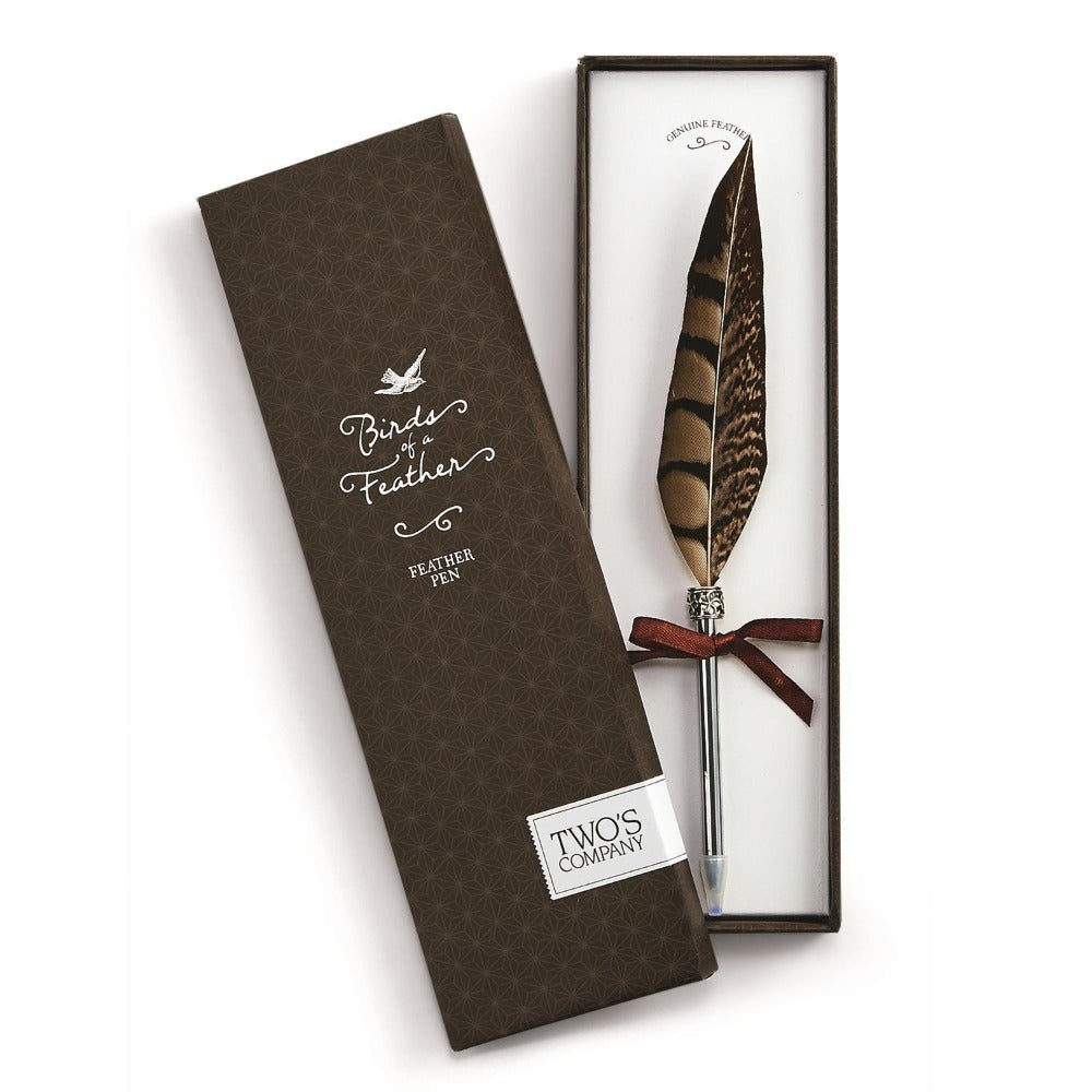 Feather Pen in Gift Box