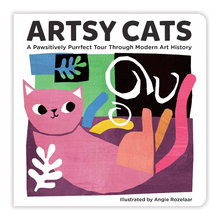 Load image into Gallery viewer, Artsy Cats Board Book