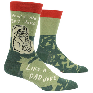 Ain't No Bad Joke Like A Dad Joke Men's Socks