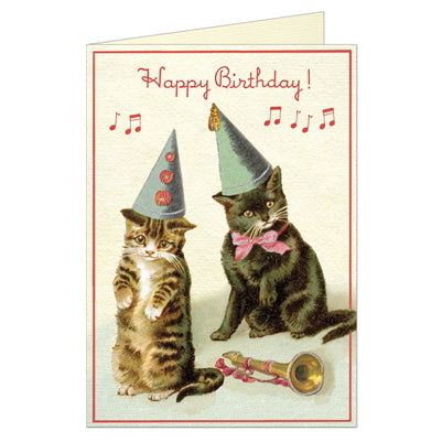 Happy Birthday Kittens Card