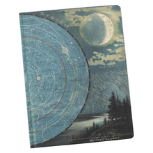 Load image into Gallery viewer, Star Map Hardcover Notebook