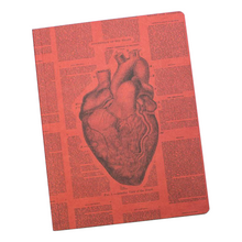 Load image into Gallery viewer, Anatomical Heart Softcover Notebook