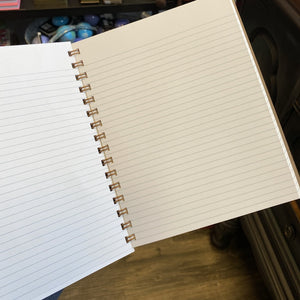 Kent Lined Notebook