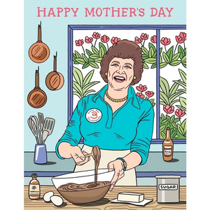 Julia Child Mother's Day Card