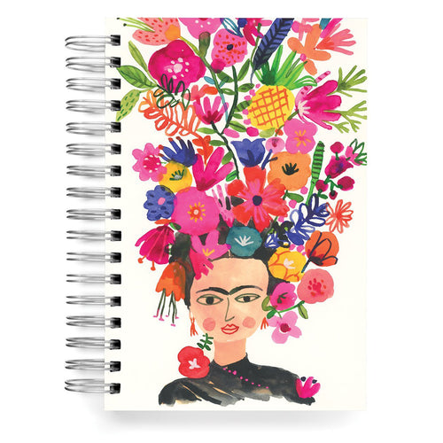 Frida Flowers Lined Journal