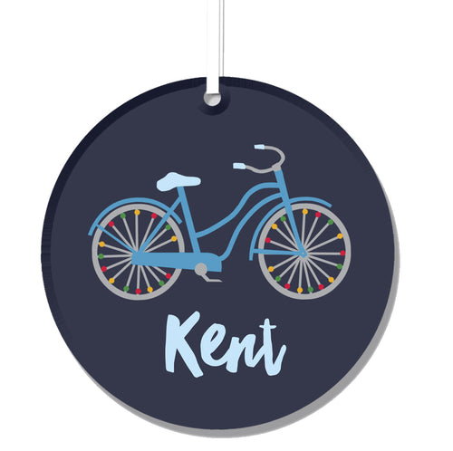 Kent Ohio Ornament - Acrylic Bike Cruiser