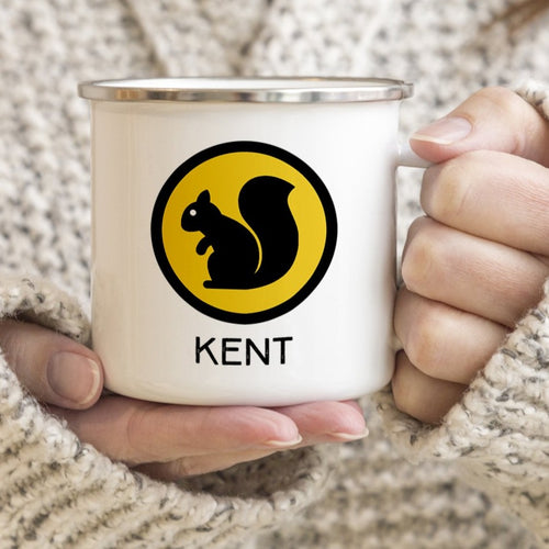 Kent Black Squirrel Camp Mug