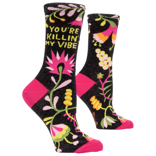 Killing my Vibe Women's Socks