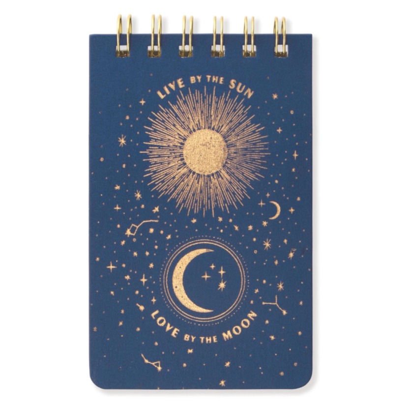 Live by the Sun Wire Bound Note pad