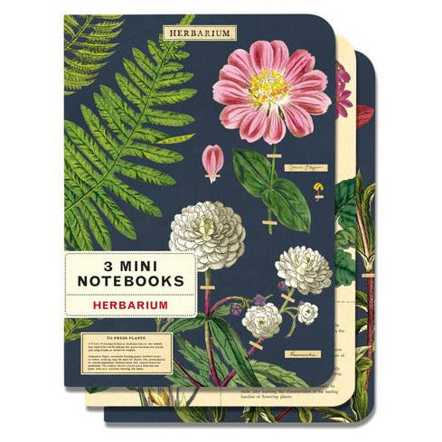 Herbarium Mini Notebooks