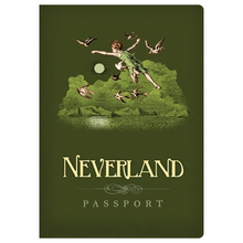 Load image into Gallery viewer, Neverland Passport Notebook