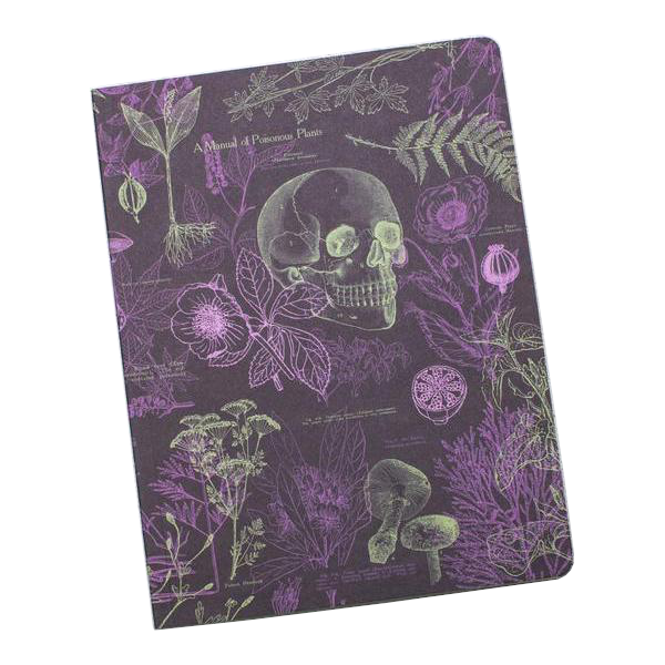 Poisonus Plants Softcover Notebook
