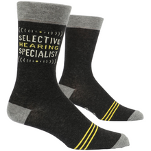 Load image into Gallery viewer, Selective Hearing Specialist Men's Socks