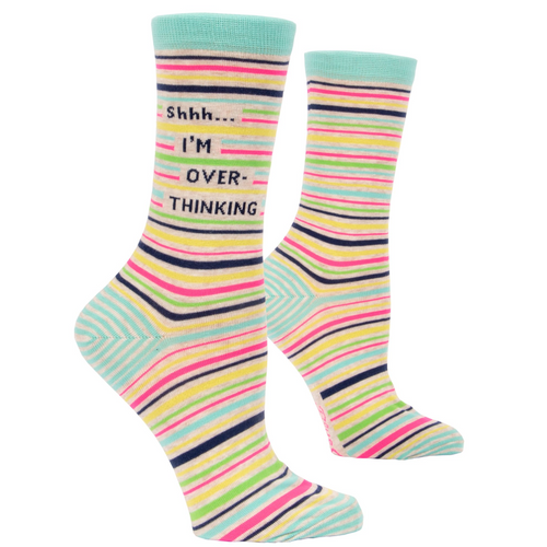 Shhhh I'm over-thinking Women's Socks