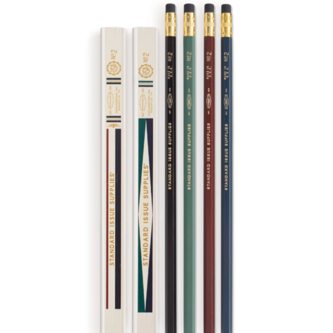 Multi Standard Issue 2 Carpenter $ Hex Pencils