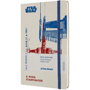 Star Wars X-Wing Ruled Notebook