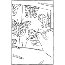 Load image into Gallery viewer, This Annoying Life - A Mindless Coloring Book