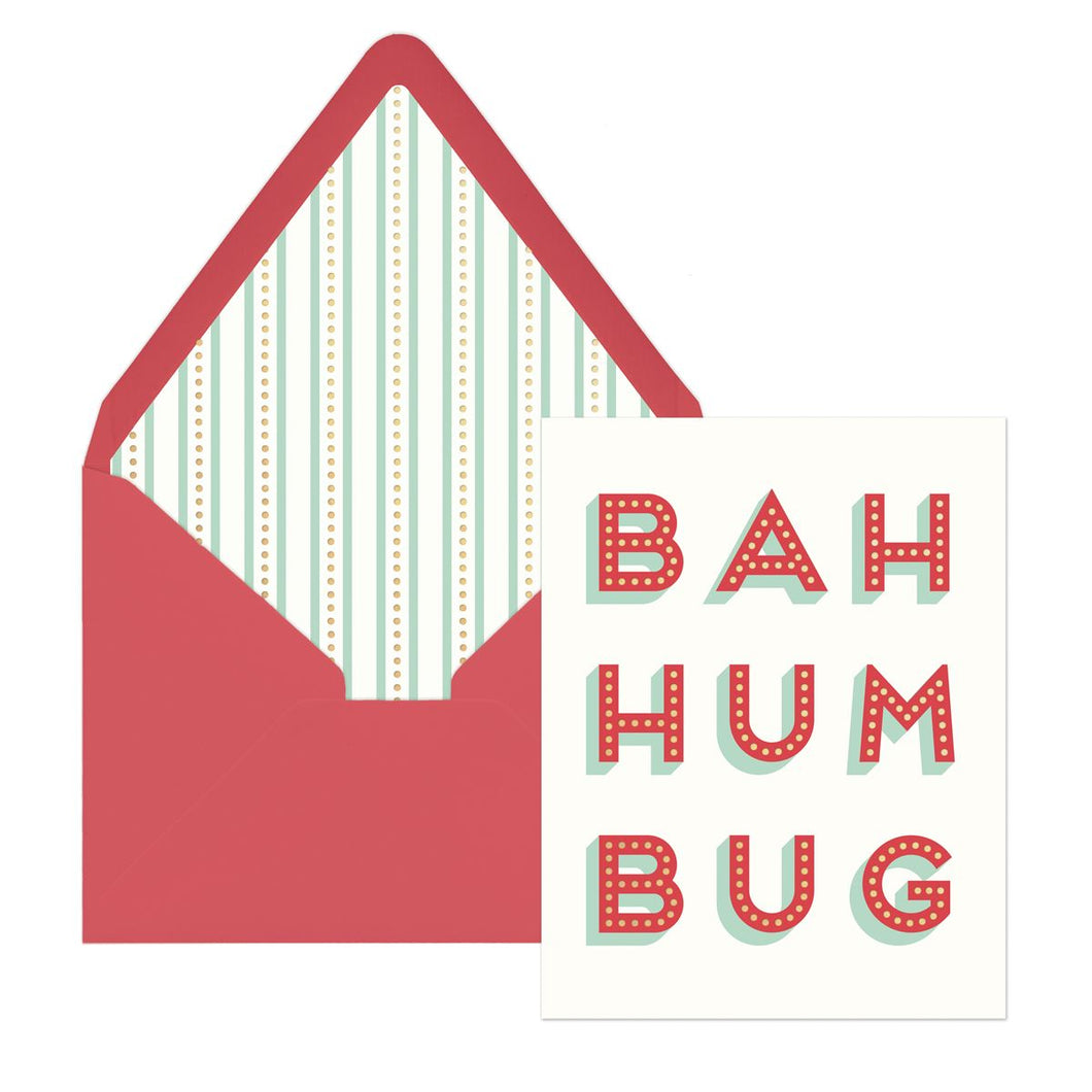 Bah Hum Bug Boxed Holiday Cards