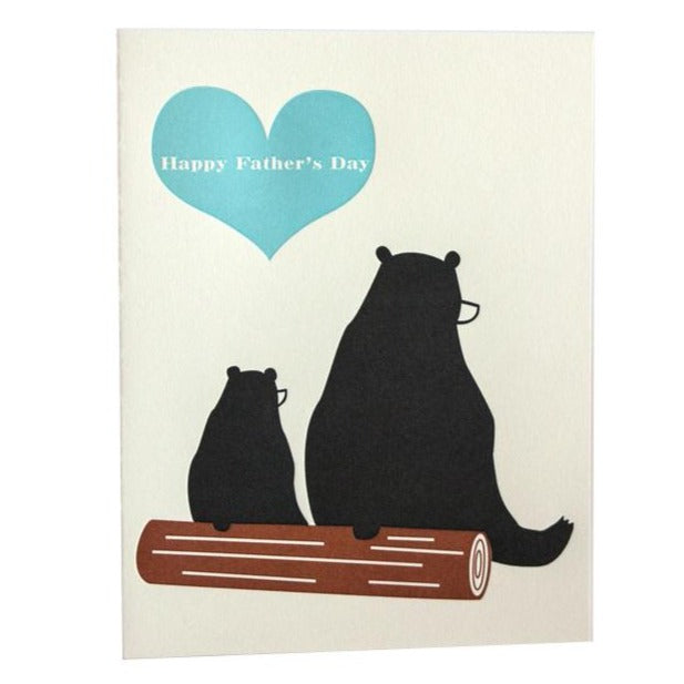 Father's Day Bears Card