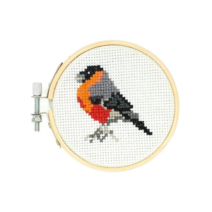 Mini Cross stitch Embroidery Bird