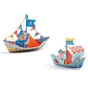 Origami Floating Boats
