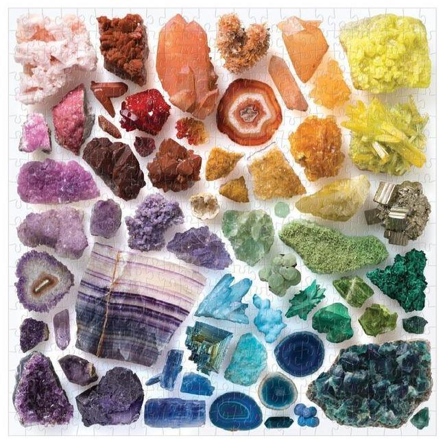 Rainbow Crystals 500 Piece Puzzle