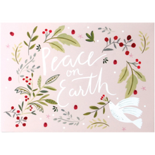 Load image into Gallery viewer, Peace on Earth Dove Pop Up Card