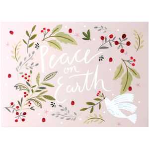 Peace on Earth Dove Pop Up Card