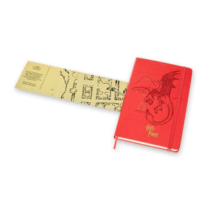 Harry Potter Dragon Ruled Notebook