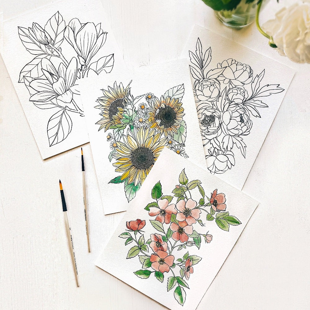 Garden Watercolor Kit