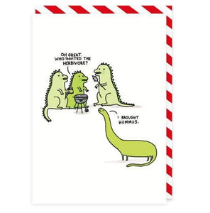 Herbivore Greeting Card