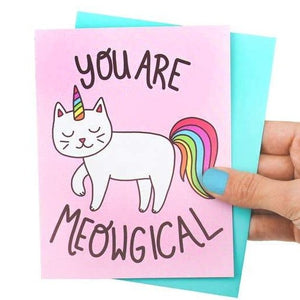 You Are Meowgical Cat Greeting Card