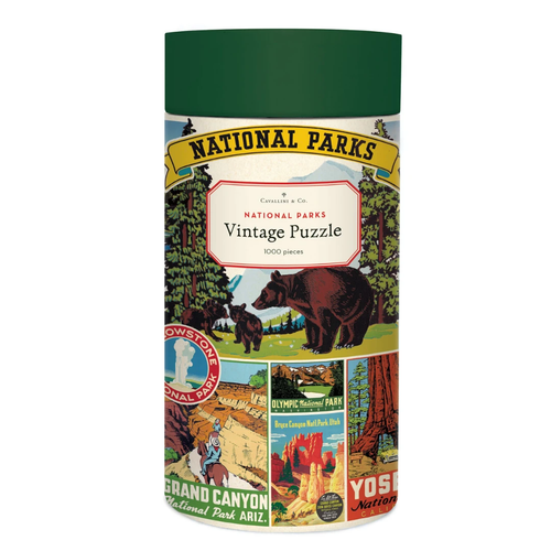 National Parks Posters 1000 Pc  Puzzle