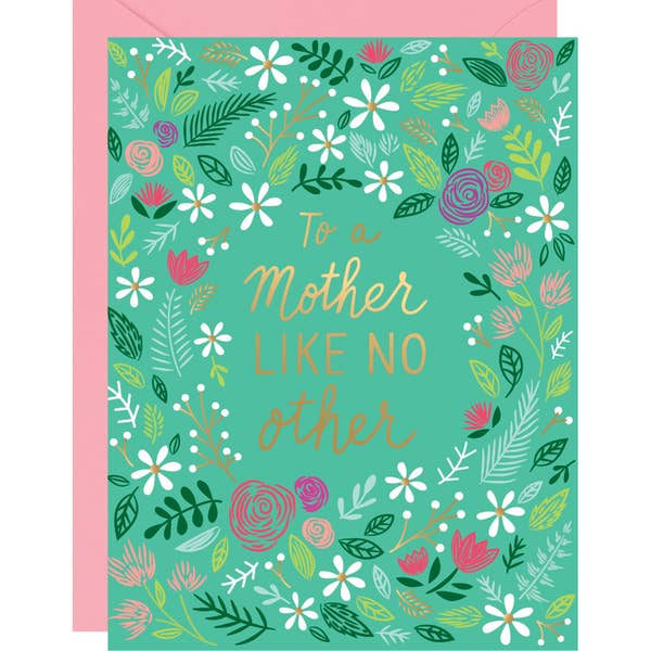 Mother Like No Other Foil Card