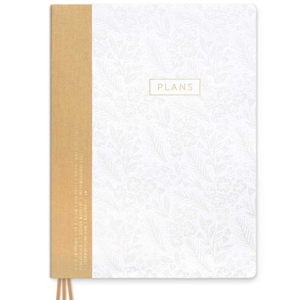 Pearl FLoral Plans Project Notebook