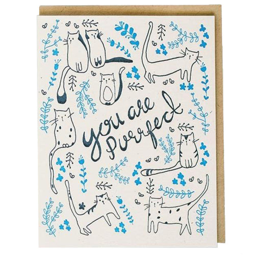 You Are Purrfect Card