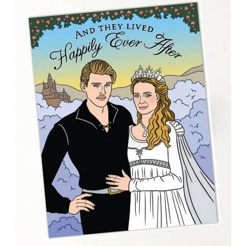 Princess Bride Happily Ever After Card