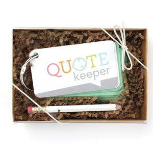 Mint Quote Keeper Starter Ring