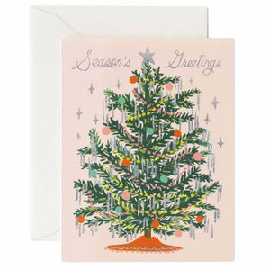 Box of Seasons Greetings Tree Card
