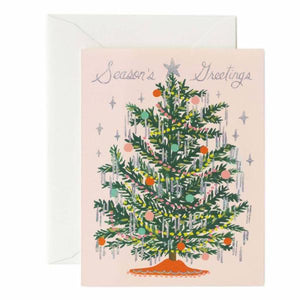 Seasons Greetings Tree Card
