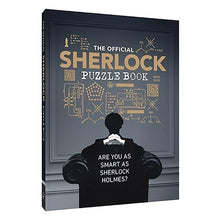Load image into Gallery viewer, The Official Sherlock Puzzle Book